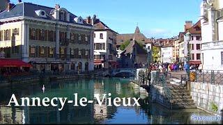 La vieille ville d'Annecy Superbe vidéo