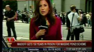 Recap - Madoff Sentenced to 150 Years - Bloomberg