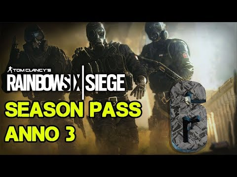 SEASON PASS ANNO 3 IN DETTAGLIO - RAINBOW SIX SIEGE