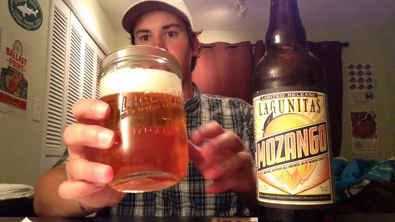 Lagunitas Brewing - MOZANGO Ale Review (2018 LIMITED RELEASE)