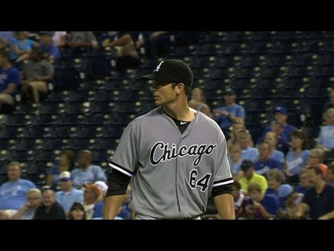 CWS@KC: Rienzo earns his first Major League victory