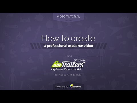 How to create a professional expainer video [Video Tutorial]