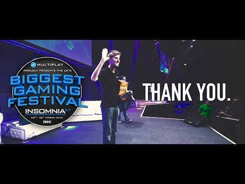 The UK's biggest gaming festival: Insomnia57. Overclockers UK - The After Movie