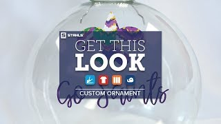 How to Get This Look: Custom Christmas Ornament