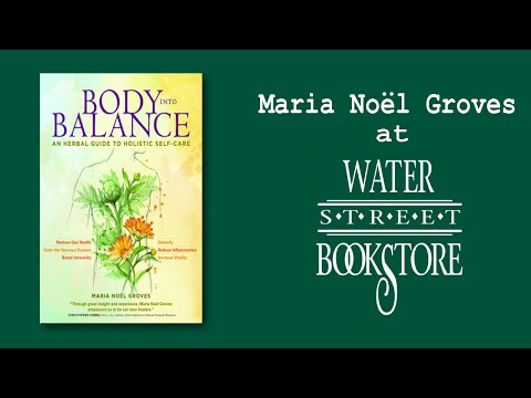 Maria Noël Groves at Water Street Bookstore