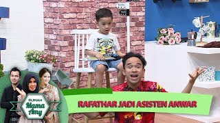 Wah Kecil Kecil Rafathar  Jadi Asisten Anwar Bawain Berita - Rumah Mama Amy (5/7)