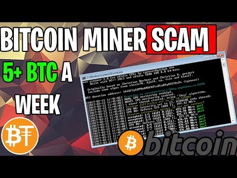 *NEW* Bitcoin (BTC) Miner Scam 5+ BTC In 2019,🚨Beware Viruses