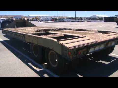 Fontaine Truck Equipment Co M172a1 Semi Trailer On