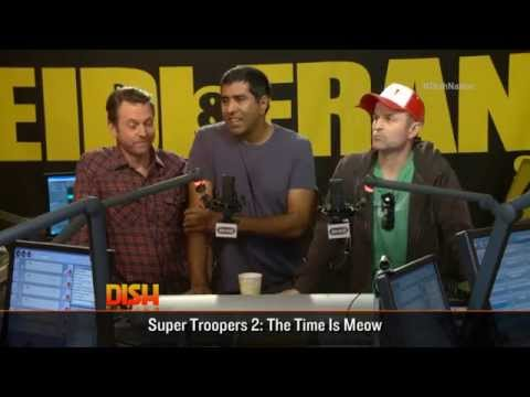 The Cast Of Super Troopers 2 Dish It Up