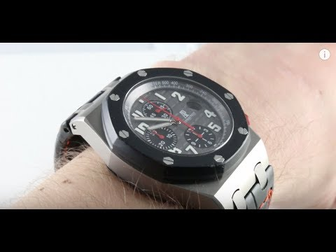 Audemars Piguet Royal Oak Offshore Gstaad Classic Edition 26296IK.GG.01 Luxury Watch Review