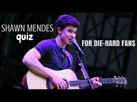 SHAWN MENDES QUIZ FOR DIE-HARD FANS