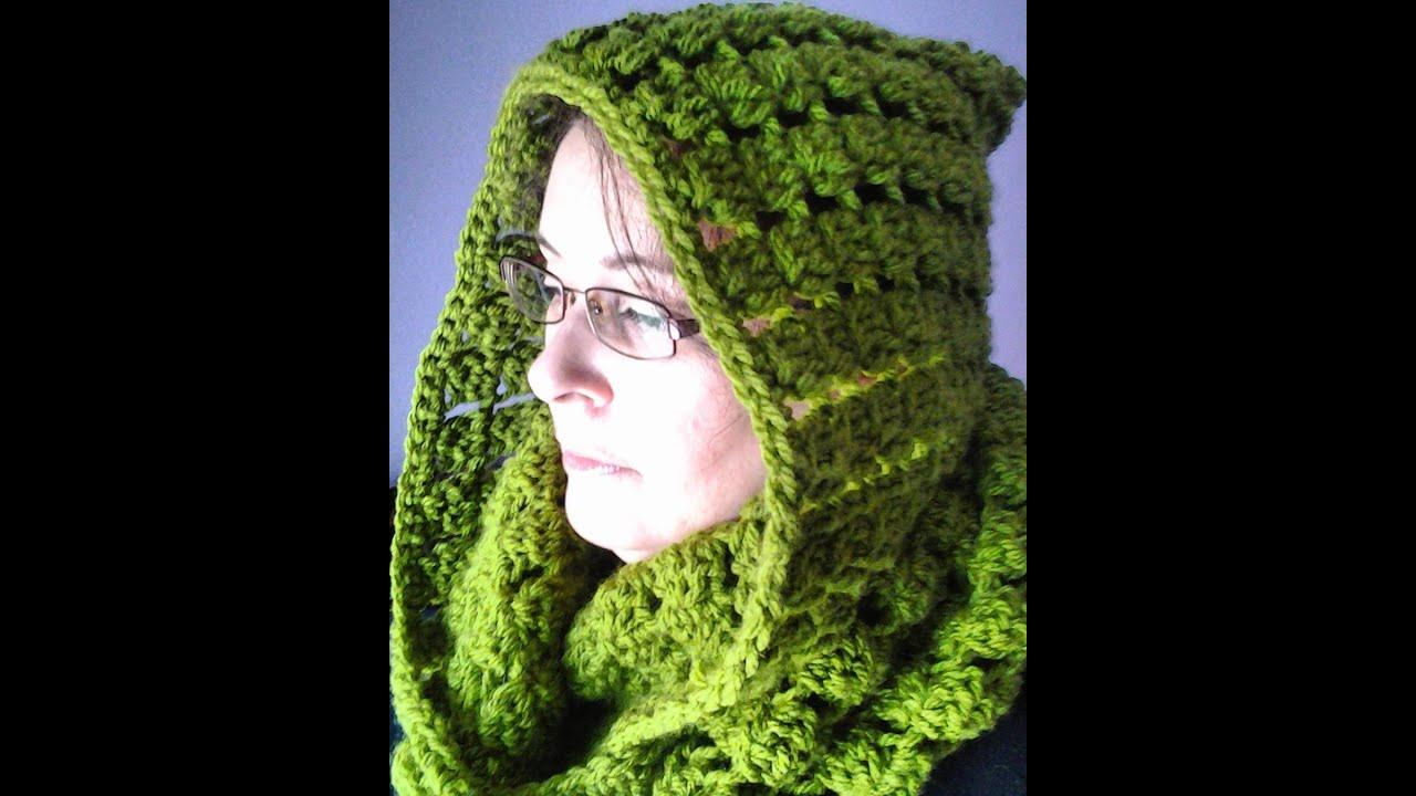Bufanda infinita con capucha a crochet muy facil #tutorial #DIY ...