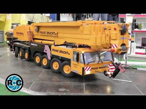 RC mobil crane Demag AC 300 Franz Bracht AMAZING RC MODEL - Intermodellbau 2016