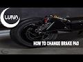 Luna Scooter Brake Pad Change