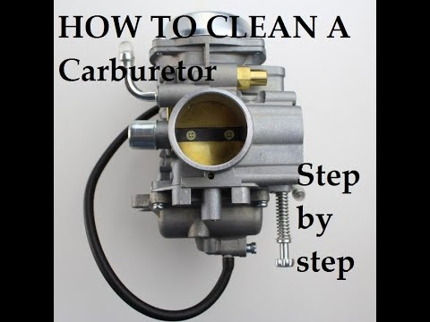 How To Rebuild And Or Clean A Carburetor On A 2001 Polaris Sportsman 400 Other Atv S Similar