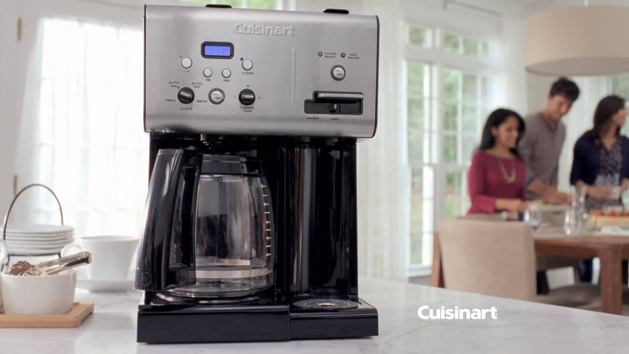 9ad9063d9fb Cuisinart Coffee Plus™ 12-Cup Programmable Coffeemaker plus Hot Water System  (CHW-12) Commercial