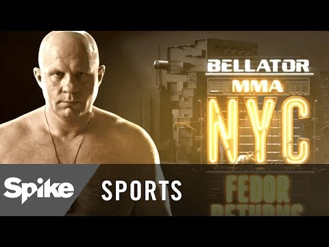 Bellator MMA NYC: 'Fedor Returns' Behind the Fighter   Spike Sports