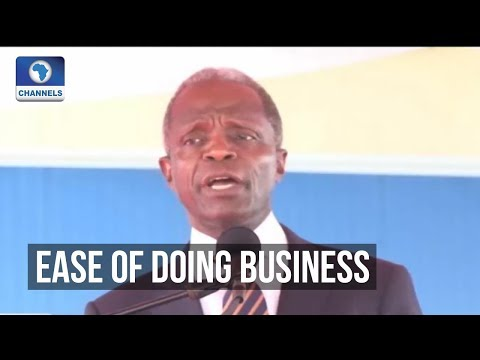 Osinbajo Reaffirms FG's Commitment On Business Opportunities