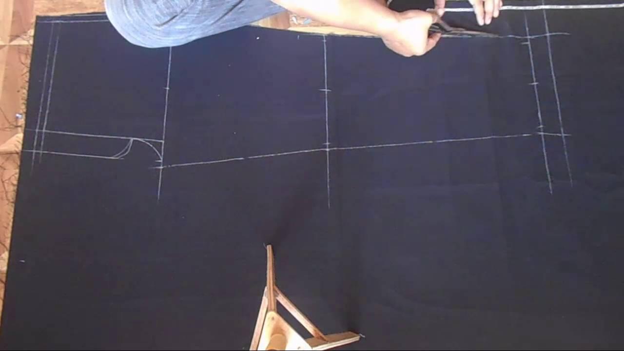 mudahnya menjahit celana bagian 1 membuat pola easy to sew pants part 1 create pattern