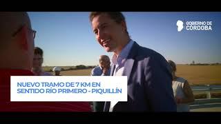 Nuevo Tramo Ruta 19, entre Río Primero y Piquillín