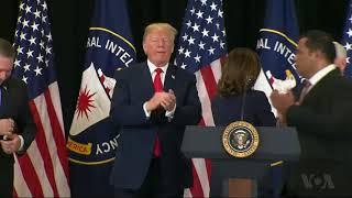 Trump Praises New, Berates Former CIA Director