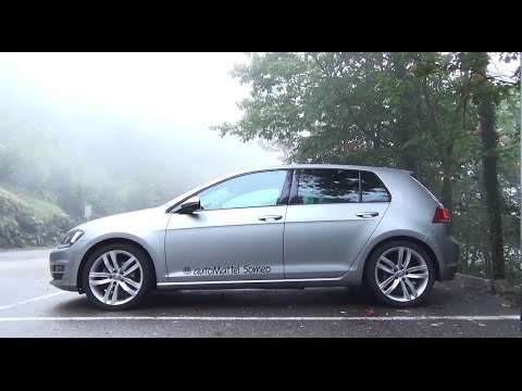vw golf 7 highline 1 4 tsi details and driving youtube. Black Bedroom Furniture Sets. Home Design Ideas