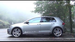 vw golf 7 5 details and driving
