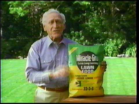 Miracle Grow Lawn Food And Weed Control 1997