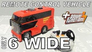 6-WIDE LEGO Remote Control mini Vehicle