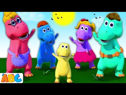 Dinosaur Song 3D Nursery Rhymes Songs For Kids By All Babies Channel