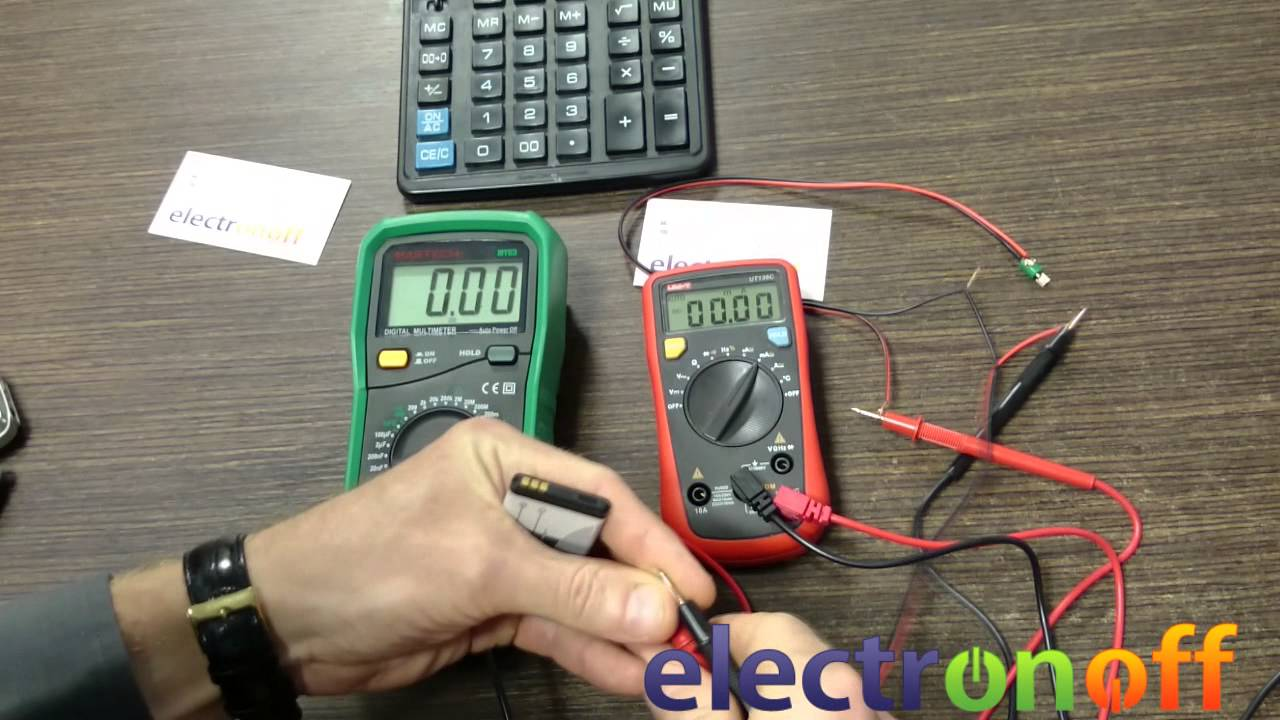 Как измерить мощность электродвигателя виброзвонка мобильного телефона