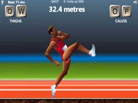 Qwop 100 Meters run (No cheap tricks, one of the hardest games ever made)