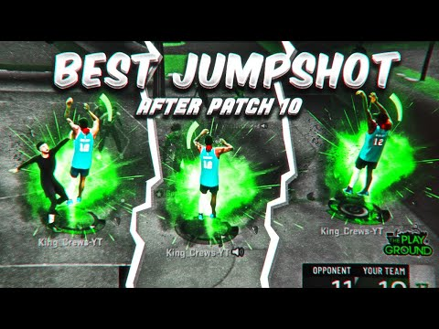 NEW BEST JUMPSHOT IN NBA 2K20 AFTER PATCH 10 |UNGUARDABLE 100% GREENLIGHT| NEVER MISS AGAIN