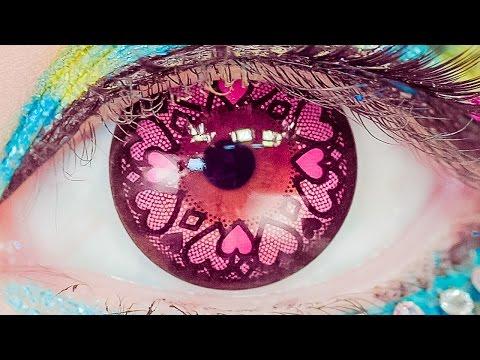 Kawaii Big Eyes ART MAKEUP TUTORIAL by Japanese model Haruka Kurebayashi   紅林大空のカワイイデカ目アートメイク講座