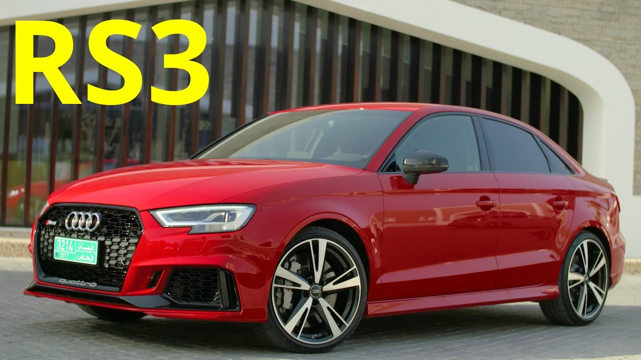 Audi Rs3 Sedan >> 2017 Audi RS3 Sedan - 400 hp Engine Sound - YouTube