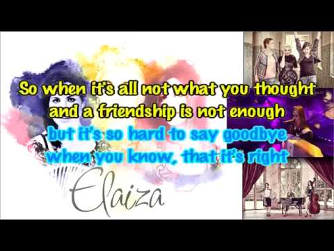 2014   Elaiza  Is It Right karaoke instrumental Germany ESC 2014