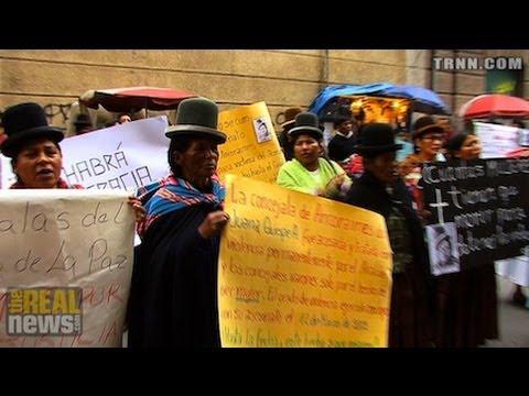Bolivia Passes Gender Violence Law
