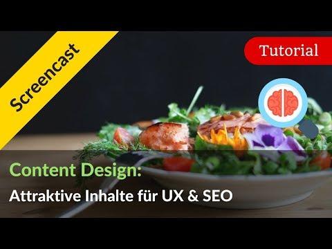 Content Design: Wie du Content attraktiv für UX und SEO aufbereitest