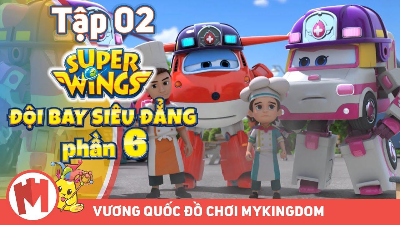 ĐỘI BAY SIÊU ĐẲNG – Phần 6 | Tập 02 : Xe Bán Thức Ăn – Phim hoạt hình Super Wings