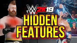 WWE 2K19 - HIDDEN FEATURES! (Super Moves, Amazing Additions, & More YOU MIGHT NOT KNOW)