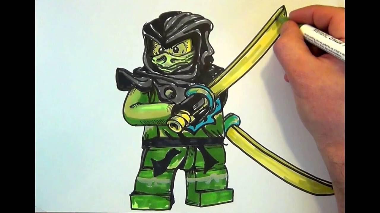 How To Draw Ninjago Morro Lego