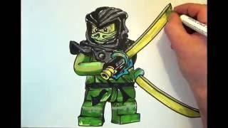 How to draw Ninjago  #Morro# LEGO