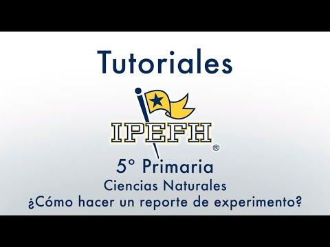 primaria-5°-ciencias-naturales,-¿cómo-hacer-un-reporte-de-experimento?