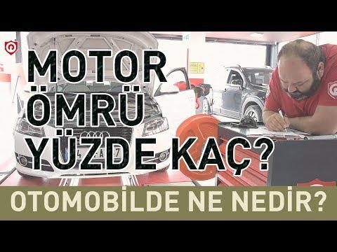 Motor Ömrü Yüzde Kaç? Motor ömrüne Yüzde Verilebilir Mi? I Otomobilde Ne, Nedir?
