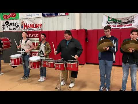 Hilldale High School Drumline Cadence - Suicides No 5