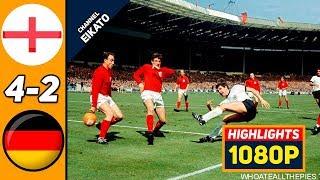 Англия ФРГ 4 2 Обзор Матча Финал Чемпионата Мира 30 07 1966 HD
