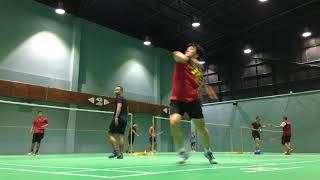 Mr.Go's Badminton Video for Self Analysis Report 24Feb2020