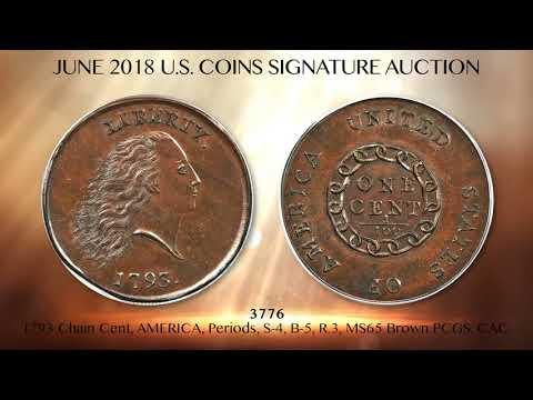 June 2018 Official Heritage U.S. Coins Signature Auction