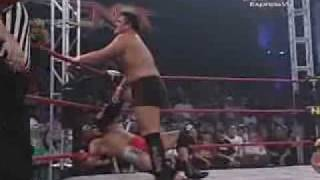 aj styles vs chris danielsvs samoa joe destination x part 2