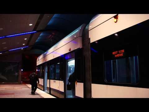 West Side Avenue Bound Hudson-Bergen Light Rail Train @ Bergenline Avenue [ New Jersey Transit ]